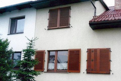 okiennice drewniane vitis